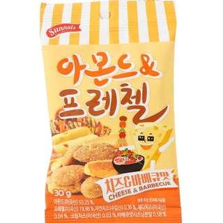 [清貨!!!] 韓國直送杏仁!!  Sunnuts Cheese and Barbeque 芝士燒烤味