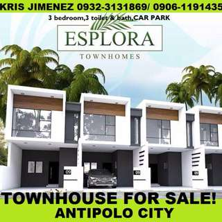 Esplora townhomes 2 pre selling townhouse for sale