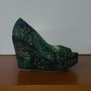 Primadonna Platform Wedge Sandals/Shoes