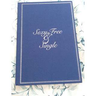 SUPER JUNIOR THE SIXTH ALBUM Sexy Free & Single Book & CD (Type A)