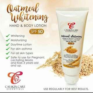 Oatmeal lotion