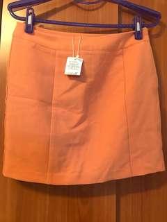 Net 橘粉色裙