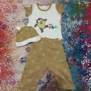 Character pajama set 0-6 months