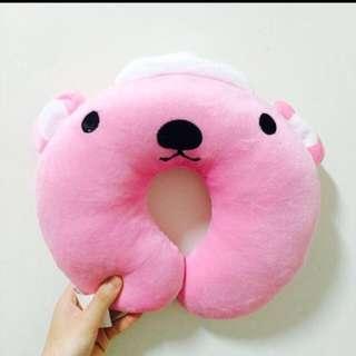 🚚 可愛粉紅色頸枕