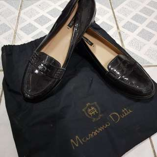Massimo Dutti Penny Loafers