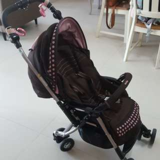 Aprica stroller for newborn and up