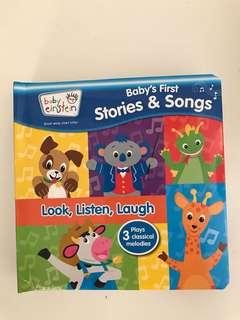 Baby Einstein baby's first stories&song-look, listen,laugh