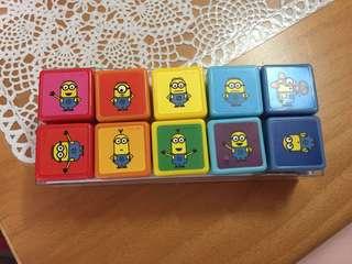 Minions stamp