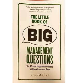 James McGrath - The Little Books of Big Management Questions