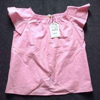 Zara pink top