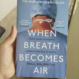 When Breath Becomes Air + free voucher