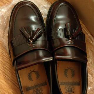 fred perry george cox loafer