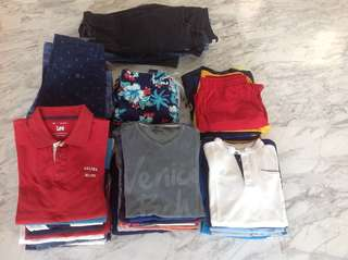 BOYS CLOTHS 50+ PIECES