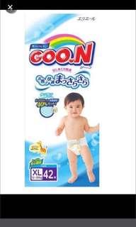 FLASHSALE: GOO.N Tape Diapers