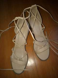 Authentic Forever 21 gladiator shoes