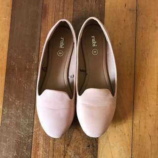 Rubi Blush Pink Loafers