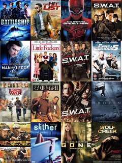 Assorted DVD 9 Movies Titles