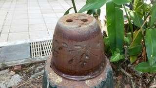 Garden clay pot dia 24cm x1
