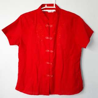 Chinese Cotton Blouse