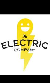 Electrician with driving licence
