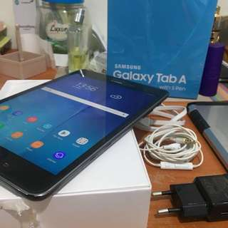 2nd Samsung Galaxy Tab A with s pen 8inci bisa tt