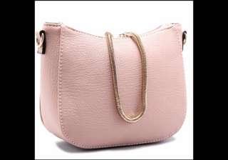 🚚 女人我最大 粉紅色小包 手拿包 肩背包 側背包 斜背包