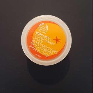 The Body Shop Satsuma Shimmer Lip Balm