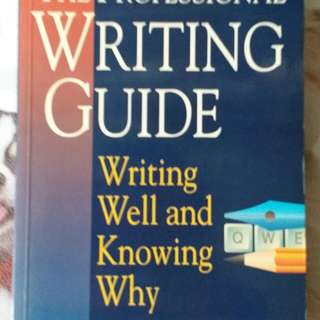 The Professional Writing Guide