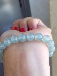 🚚 玻璃種螢光珠手鍊
