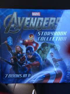 Buku Avengers storybook collection
