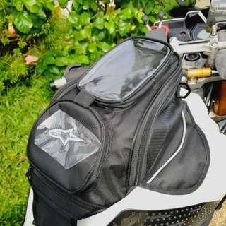 Tank bag with magnet sides alpinestars