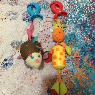 Tinylove motor sensory sling toy