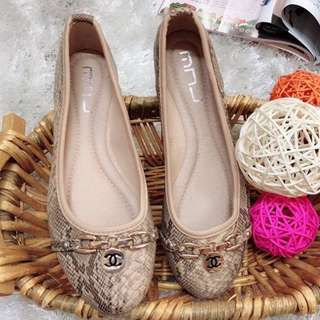 "KOREAN CHANEL """"INSPIRED"""" DOLL SHOES ';.;'"