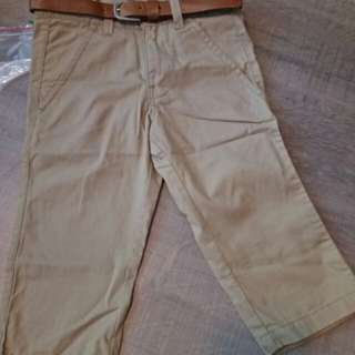 United Colors of Benetton Trouser and Belt for 1 year old boy