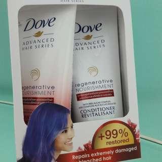 Dove Shampoo & Conditioner (Travel size)