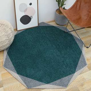 Carpet | Modern Simplicity | Nonagon-shaped Rug