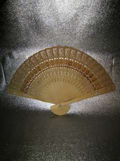 Wooden Carved Fan