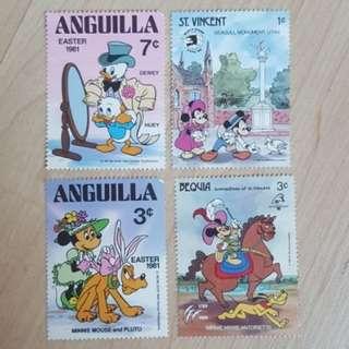 Original Stamps - Disney