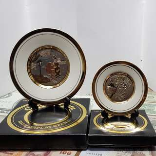 24K Gold Chokin Plate