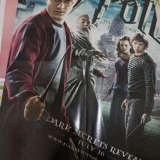 Poster Harry Potter/Lee Min Ho