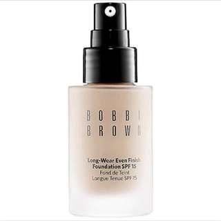 Bobbi Brown Long-Wear Even Finish Foundation SPF 15; #1 Warm Ivory