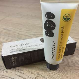 Innisfree Jeju Volcanic 3in1 Nose Pack