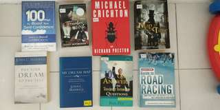 8 books bundle