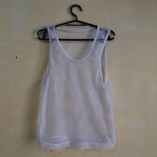 White Summer Cover top