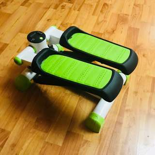 Muscle Power Mini Stepper (Neon Green)