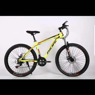 "Brand new 26"" MTB bike/bicycle with disk brakes, Suspension, 21Speeds etc for 165$"