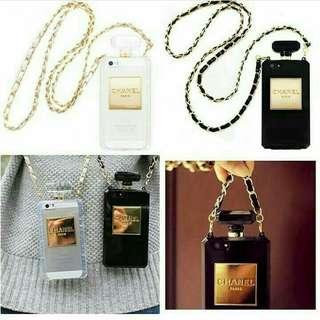 Chanel bottle perfume case