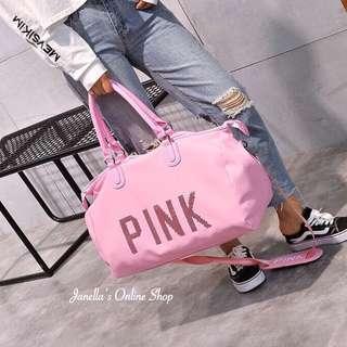 Baby Pink Travel Bag