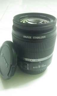 Canon Lens EF-S 18-55mm IS