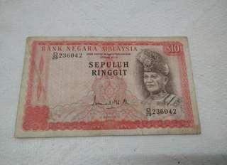 Malaysia Siri-3 $10 Banknotes